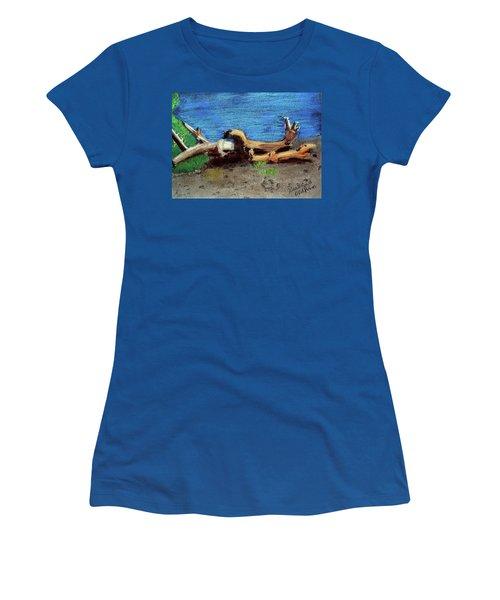 012519 Yellow Stone Lake Shore Women's T-Shirt