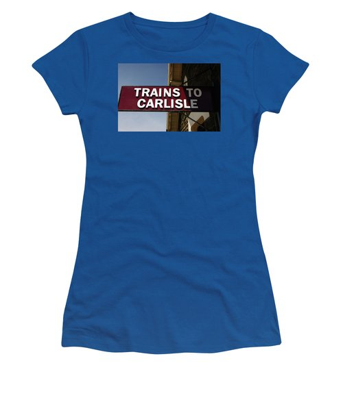 06/06/14 Settle. Station View. Destination Board. Women's T-Shirt