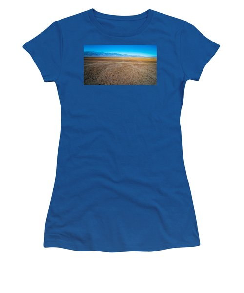 Women's T-Shirt featuring the photograph Death Valley National Park Scenes In California by Alex Grichenko