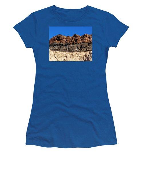 4 Textures 4 Colors Women's T-Shirt
