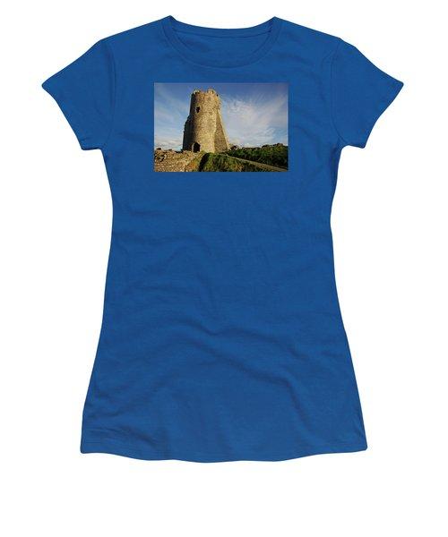 Aberystwyth. The Castle Gatehouse. Women's T-Shirt