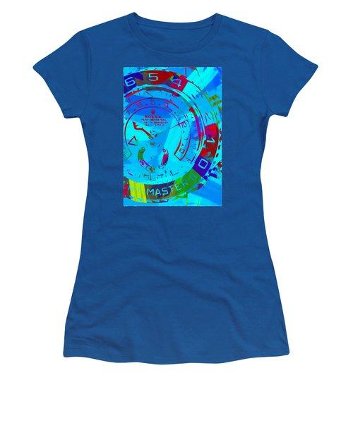 Abstract Rolex Digital Paint 11 Women's T-Shirt