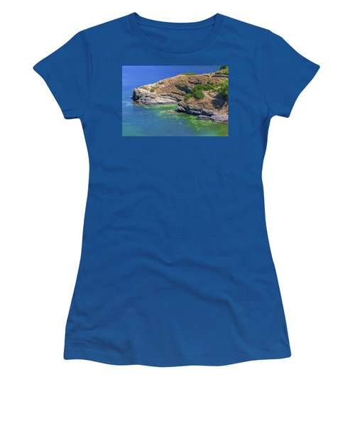 Aegean Coast In Bali Women's T-Shirt