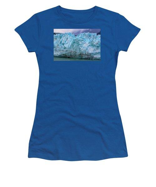 Alaskan Blue Glacier Ice Women's T-Shirt