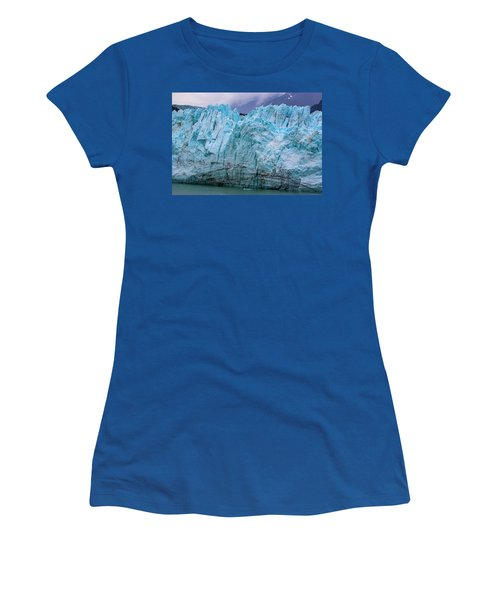 Alaskan Blue Glacier Ice Women's T-Shirt