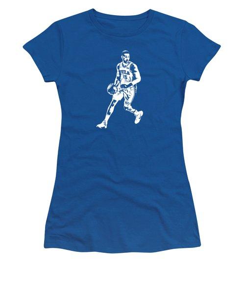 Ben Simmons Philadelphia 76ers T Shirt Apparel Pixel Art 1 Women's T-Shirt