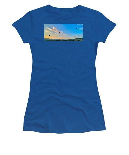 Binghamton Spiedie Festival Air Ballon Launch Women's T-Shirt