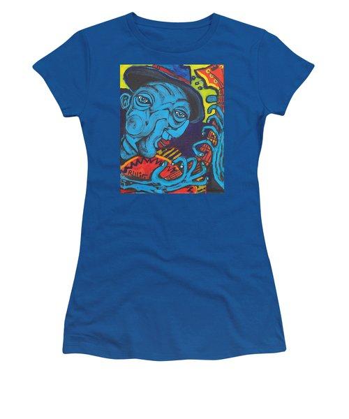 Blues Dude Women's T-Shirt