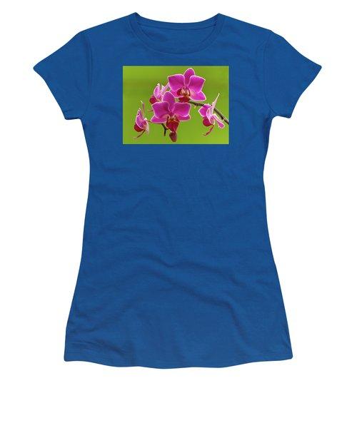 Brilliant Pink Orchid Women's T-Shirt