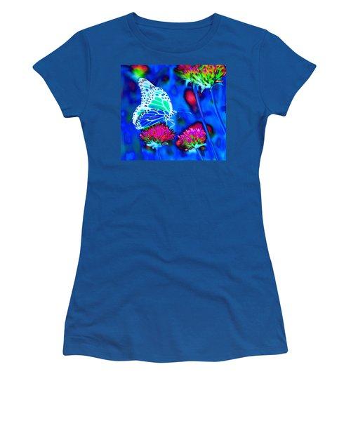 Butterfly Blue Women's T-Shirt