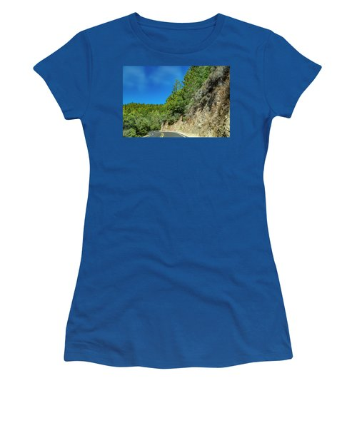 California Clouds Highway One Women's T-Shirt