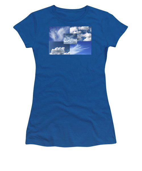 Cloud Collage Two Women's T-Shirt