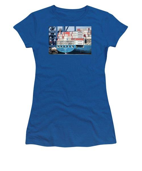 Container Ship Women's T-Shirt