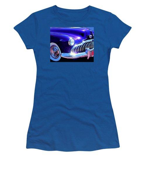 Custom 1949 Purple Buick Women's T-Shirt