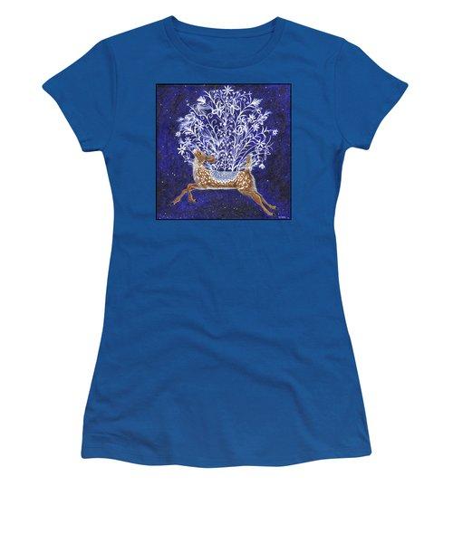 Fawn Bouquet Women's T-Shirt
