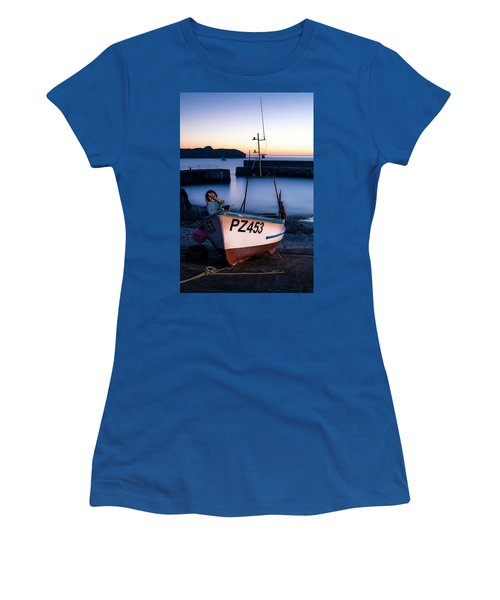 Fishing Boat In Mullion Cove Women's T-Shirt