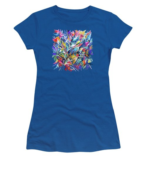 Flowered Vine Women's T-Shirt