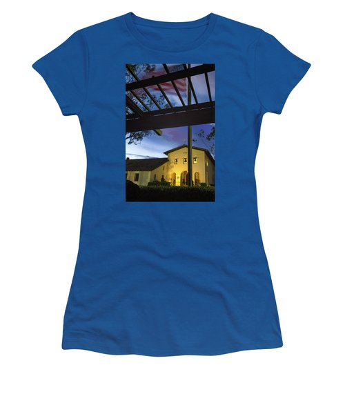 Half Staff At The Slo Mission Women's T-Shirt