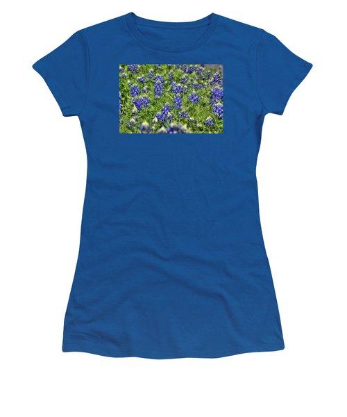 Heavenly Bluebonnets Women's T-Shirt