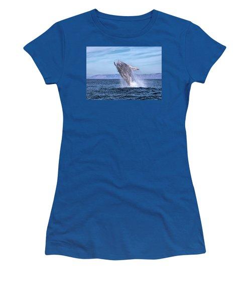 Humpback Breaching - 02 Women's T-Shirt