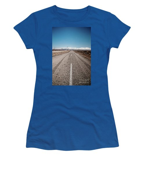 infinit road in Turkish landscapes Women's T-Shirt