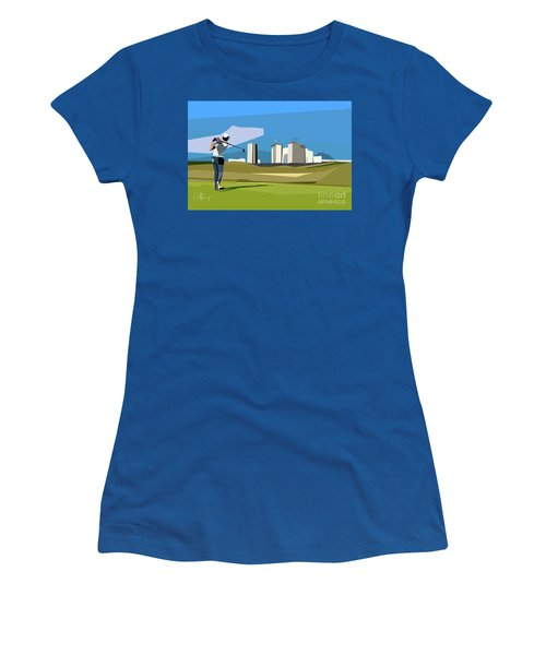 Justin Rose In Rio  Women's T-Shirt