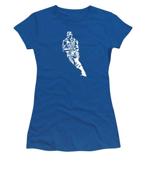 Kemba Walker Charlotte Hornets T Shirt Apparel Pixel Art 2 Women's T-Shirt