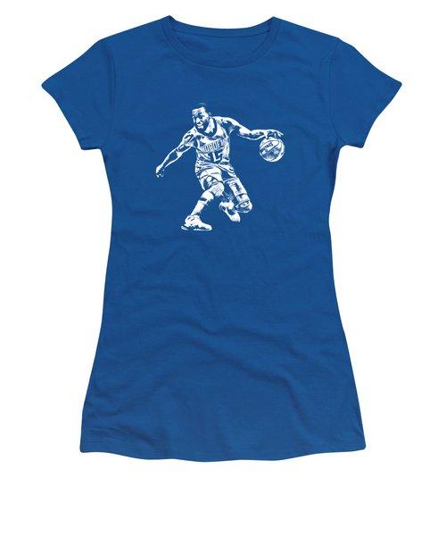 Kemba Walker Charlotte Hornets T Shirt Apparel Pixel Art 3 Women's T-Shirt