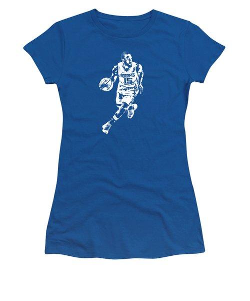 Kemba Walker Charlotte Hornets T Shirt Apparel Pixel Art 4 Women's T-Shirt