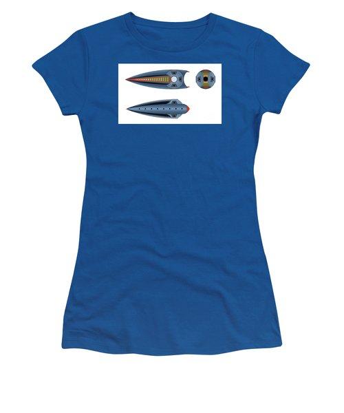 Maggotroll Frigate Schema Women's T-Shirt