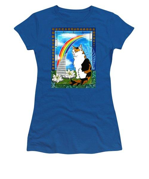 Mama Turtle - Cat Painting Women's T-Shirt