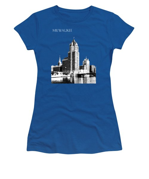Milwaukee Skyline - 4 - Coral Women's T-Shirt