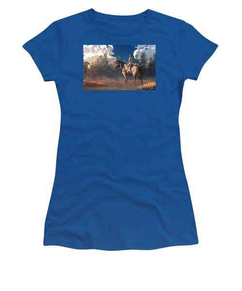 Morning Ride On An Appaloosa Women's T-Shirt