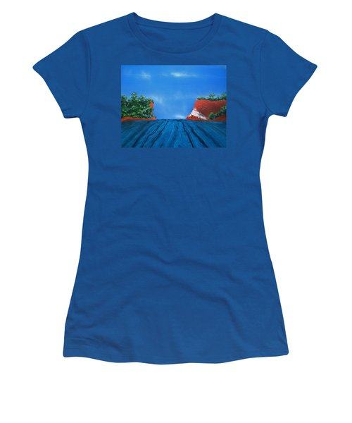 Mouth Of The Hay River Women's T-Shirt