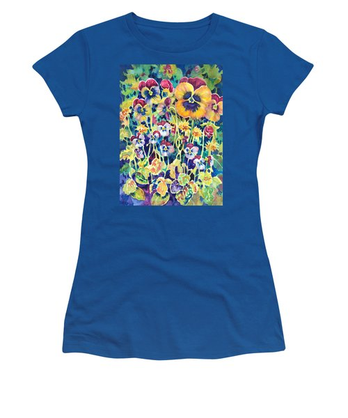 Pansies And Violas Women's T-Shirt