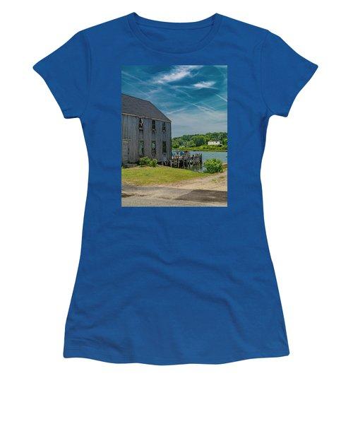 Peaceful View Near Kennebunkport Women's T-Shirt