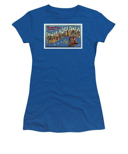 Philadelphia Greetings Women's T-Shirt