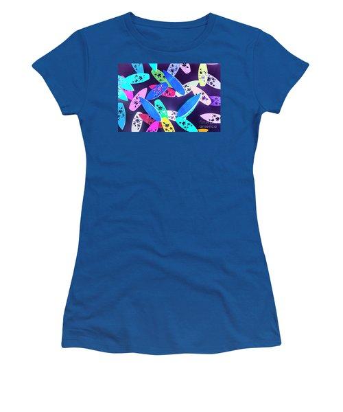 Purple Waters Women's T-Shirt