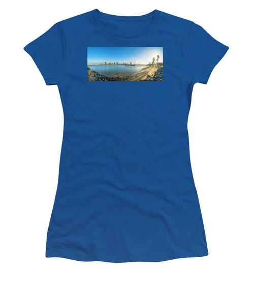San Diego Bay - Panorama Women's T-Shirt