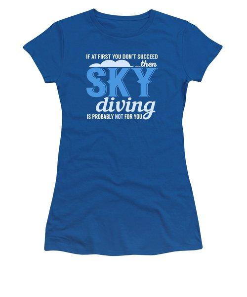 Sky Diving Women's T-Shirt