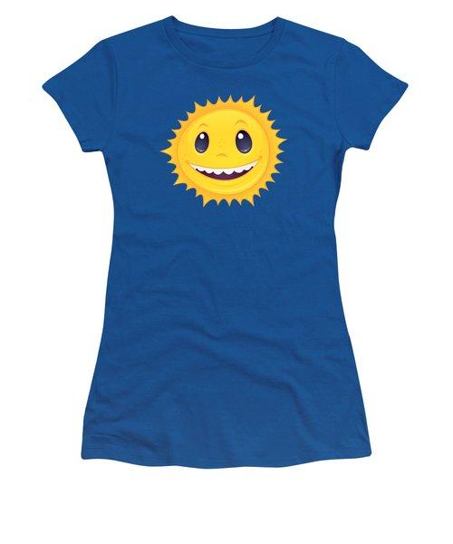 Smiley Sun Women's T-Shirt