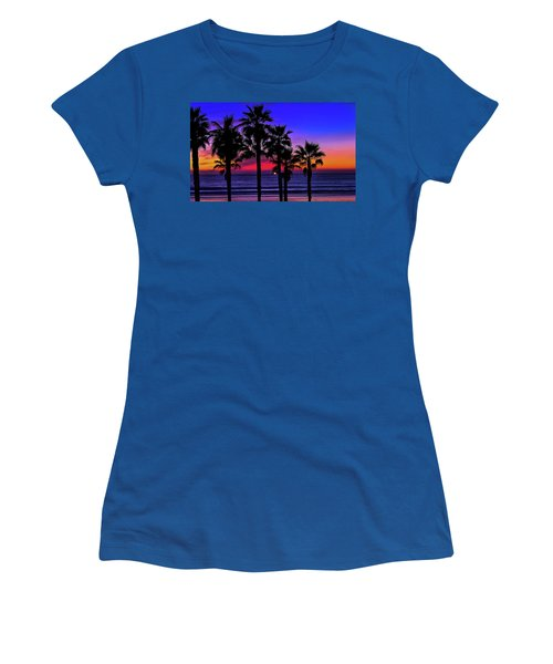Sunset From The Ocean Park Inn Women's T-Shirt