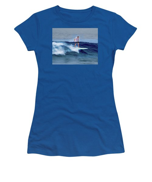 Surfing Andy Women's T-Shirt