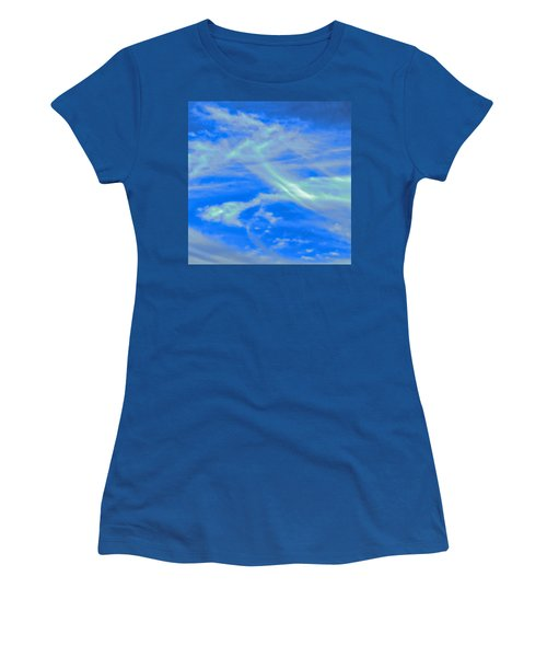 Women's T-Shirt featuring the photograph Sylph Party by Judy Kennedy