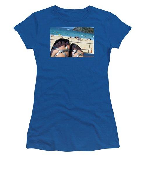 Thongs On Bondi 2 Women's T-Shirt