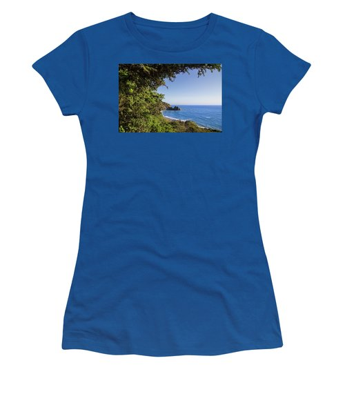 Trees And Ocean Women's T-Shirt