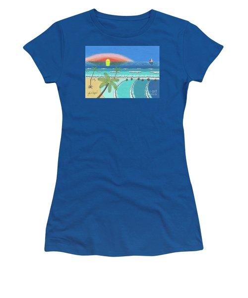 Tropical Sunrise Women's T-Shirt