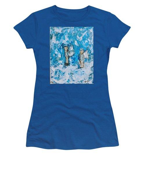 Twin Boy Angels Women's T-Shirt