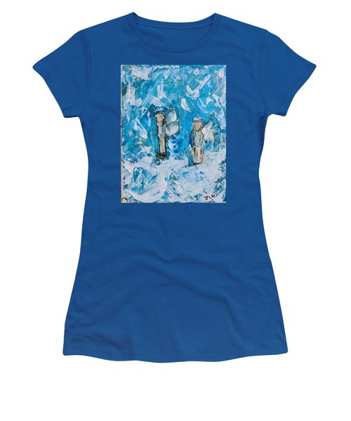 Twin Boy Angels Women's T-Shirt