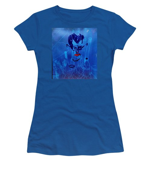 When His Face Is Blue For You Women's T-Shirt